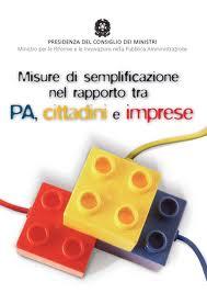 Imprese: Dossier su semplificazione e liberalizzazione mercato dei servizi